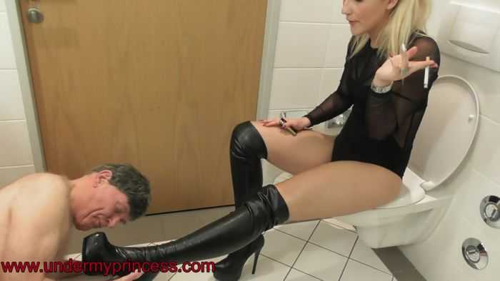 Spit And Shoe Worship [UnderMyPrincess] Lisa (1080p)