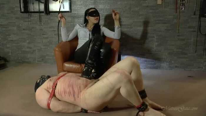 Mistress Gaia - Squirm Under My Boots (720 HD) - Hot Femdom