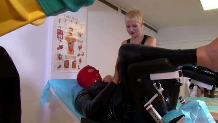 Medicaly Sado – Anna, Lady Patricia - Two Submissive's Punishmen - CBT