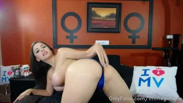 Immeganlive – My First Ever Onlyfans Show