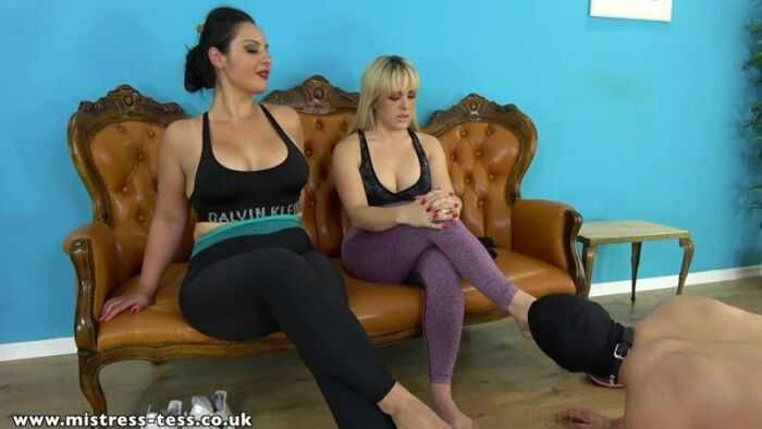 Mistress Tess - Post Run Sweat Arousal - Mistress Ezada Sinn - Armpit Worship