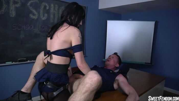 SweetFemdom – Charlotte Sartre – Cop School Ass Fucking Part 2 - Pegging